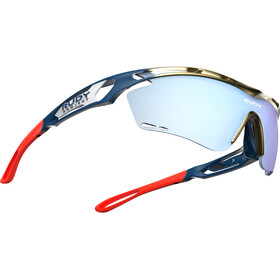 Rudy Project Tralyx Fade Team Baharain/Merida Glasses gold/blue/red-ice